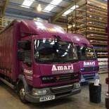 Amari Plastics trucks