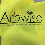 Arbwise reflective clothing graphics