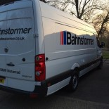 Bahnstormer Crafter rear