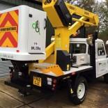 Durabilis crane truck rear