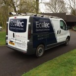 Ecolec Electrical Contractors side of van