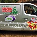Eden Mission Christmas van
