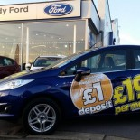 Hendy Ford outside showroom