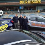 Hendy Group outside Morrisons