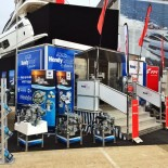 Hendy at Boat Show display