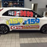 Hendy white MG3 £9699 £159£159 side