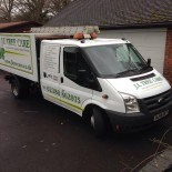 JL Tree Care van side