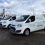Lawn Science vans
