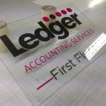 Ledger Accounting Services sign