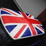 Mini bonnet flag