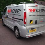 NHP Romsey Vivaro side and rear