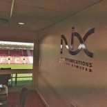 Nix graphics at Southampton FC