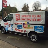 Picador Christmas Fun Day van