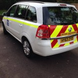 Zafira highways chevrons
