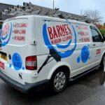 cleaning service van signwriting Southampton