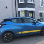 Blue Nissan Wrap Portsmouth