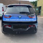 BMW Car Signwriting West End