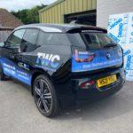 BMW Car Wrap Winchester